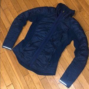 Lululemon puffer jacket top sweater